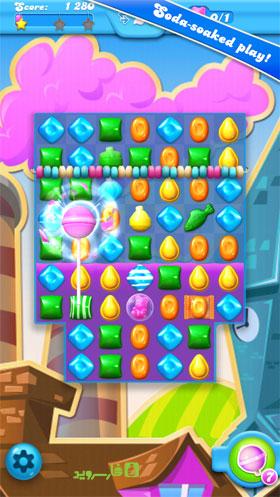 Candy Crush Soda Saga Android - بازی جدید اندروید
