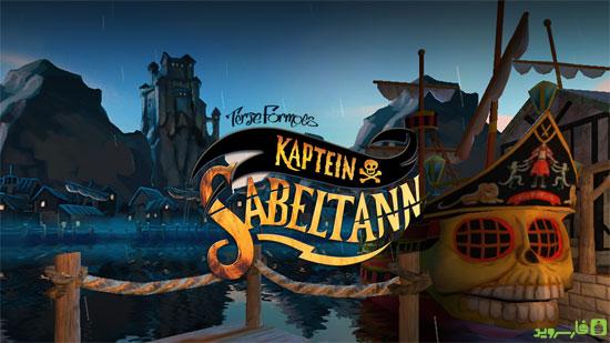 دانلود Captain Sabertooth 1.3 – بازی ماجراجویی دزدان دریایی اندروید + دیتا