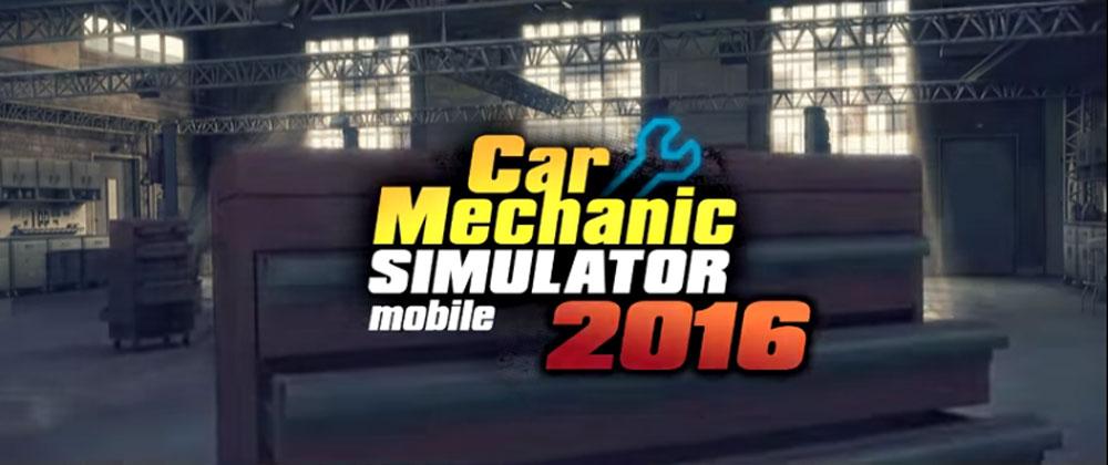 دانلود Car Mechanic Simulator 2016 - بازی شبیه ساز مکانیک خودرو اندروید + مود