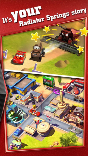 Cars: Fast as Lightning Android - بازی اندروید