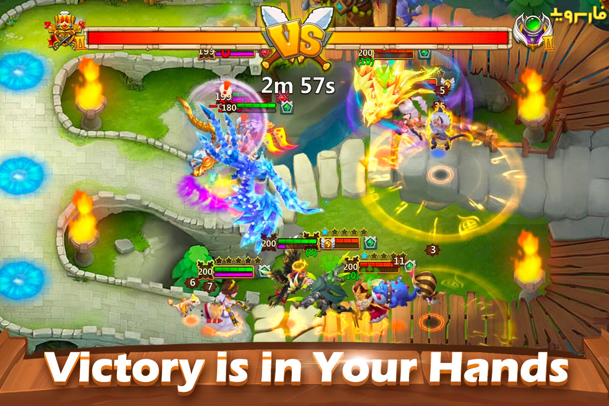 Castle Clash Android بازی اندروید