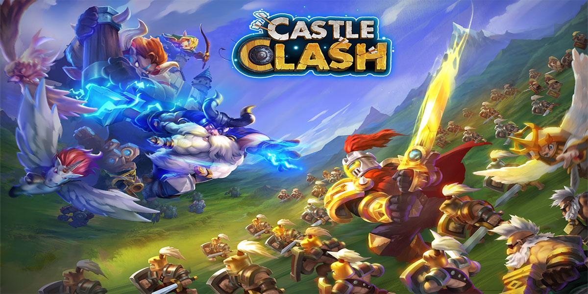 Castle Clash - 20 بازی برتر سال 2016 بخش اول
