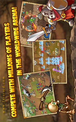 Castle Defense Android - بازی اندروید