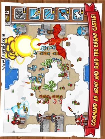 Castle Raid 2 Android بازی اندروید