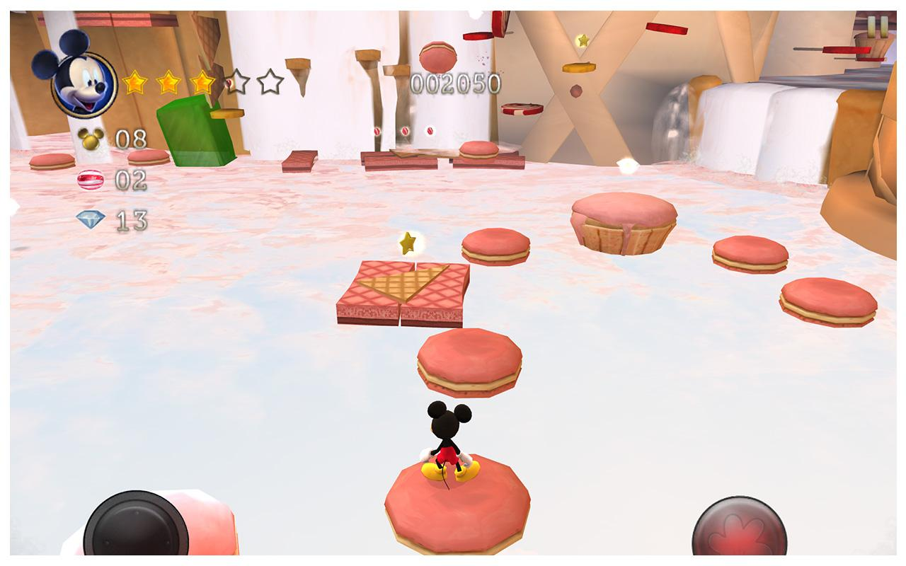Castle of Illusion Android - بازی جدید اندروید