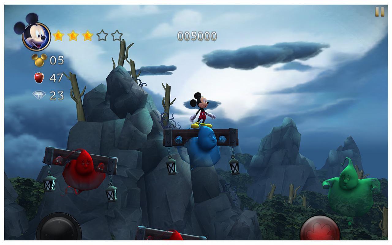 Castle of Illusion Android - بازی میکی موس جدید اندروید