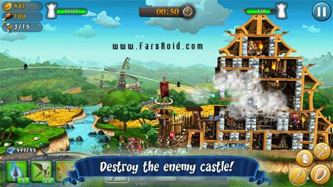 CastleStorm - Free to Siege - بازی استراتژیک اندروید