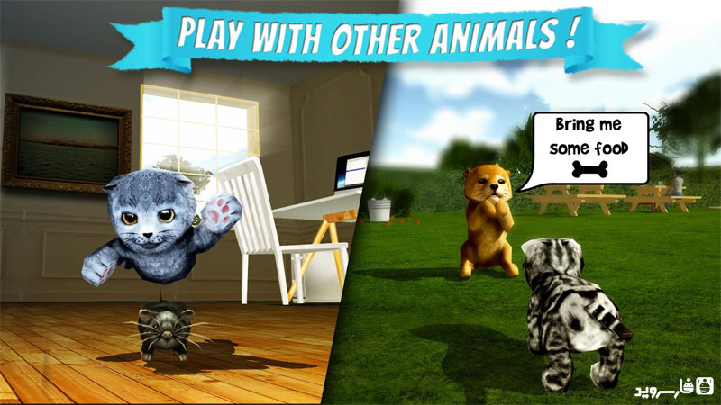 دانلود Cat Simulator 2.1.1 – بازی شبیه ساز گربه اندروید + مود