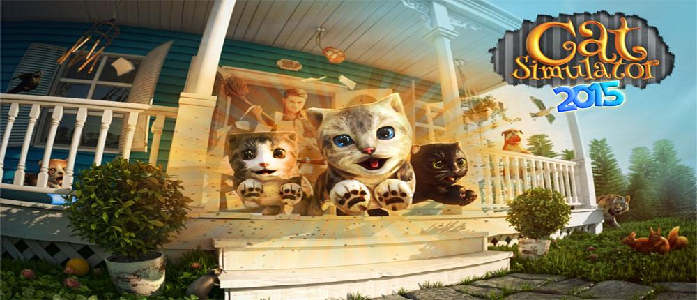 دانلود Cat Simulator 1.2.4 – بازی شبیه ساز گربه اندروید + دیتا/مود