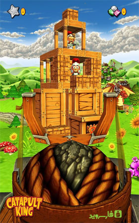 Catapult King Android - بازی اندروید