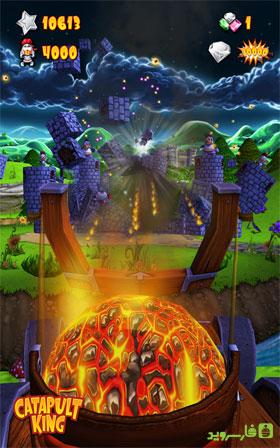 دانلود Catapult King 2.0.50.31 – بازی پادشاهِ منجنیق اندروید + مود + دیتا