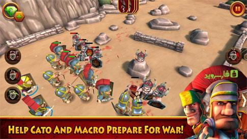 Cato and Macro Android - بازی جدید اندروید