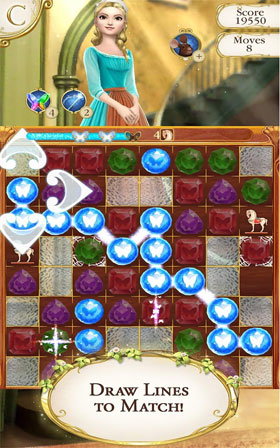 Cinderella Free Fall Android