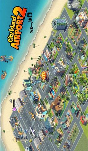 دانلود City Island: Airport 2 1.7.0 – بازی مدیریت فرودگاه 2 اندروید + مود