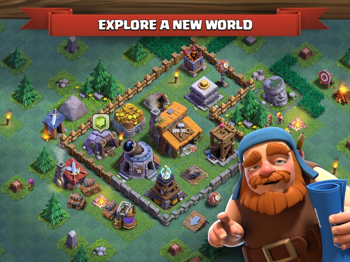 Clash of Clans Android بازی اندروید