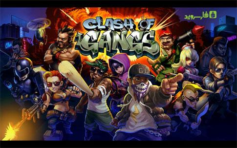 بازی اندروید کلش اف گنگز نسخه جدید,Clash of Gangs v1.2.2
