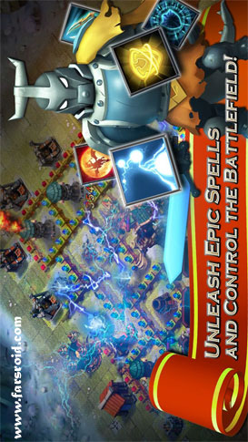 Clash of Lords 2 Android - بازی اندروید