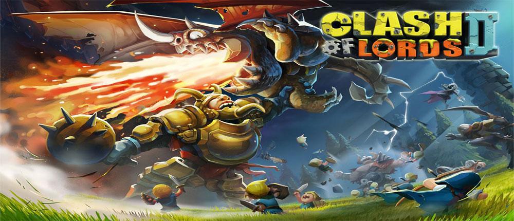 دانلود Clash of Lords 2 - بازی جنگ پادشاهان 2 اندروید - آنلاین