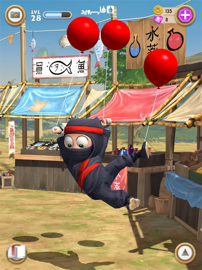Clumsy Ninja Android - بازی اندروید