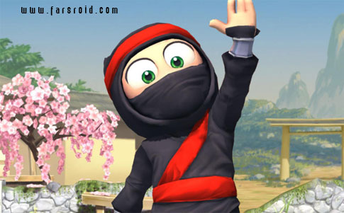 دانلود Clumsy Ninja - بازی نینجای دست و پا چلفتی اندروید + دیتا