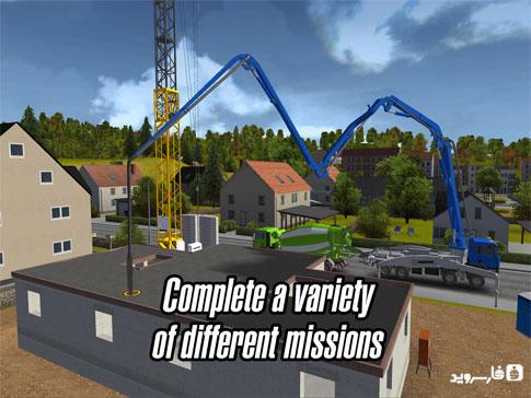 دانلود Construction Simulator 2014 1.11 – بازی شبیه ساز ساخت و ساز 2014 اندروید + دیتا
