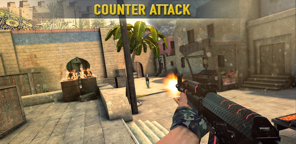 "Counter Attack Team 3D Shooter Cover دانلود Counter Attack Team 3D Shooter 1.1.62 – بازی اکشن ""کانتر"" آندروید + مود + دیتا"