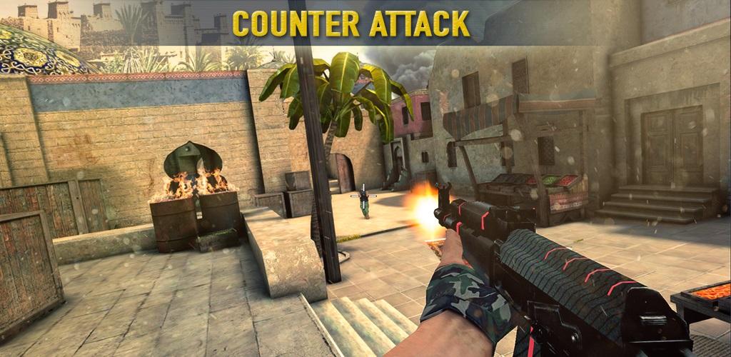 """دانلود Counter Attack Team 3D Shooter - بازی اکشن """"کانتر"""" اندروید + مود + دیتا"""