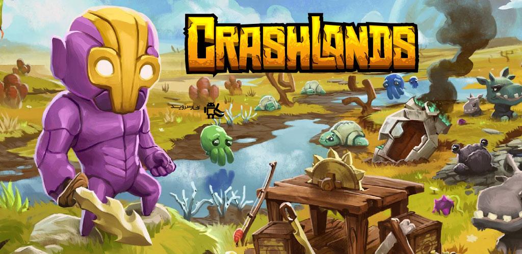 """دانلود Crashlands - بازی نقش آفرینی محبوب """"تصادم اراضی"""" اندروید !"""