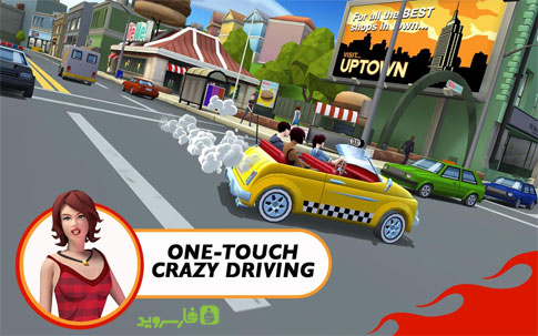 Crazy Taxi™ City Rush Android - بازی اندروید
