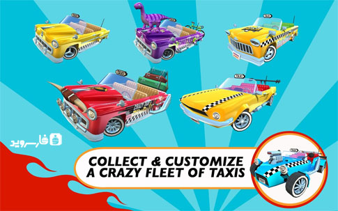 دانلود Crazy Taxi™ City Rush 1.7.6 – بازی تاکسی دیوانه اندروید + مود + دیتا