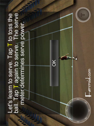 Cross Court Tennis 2 Android بازی اندروید