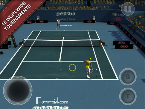 Download Cross Court Tennis 2 Android Apk + obb - FREE