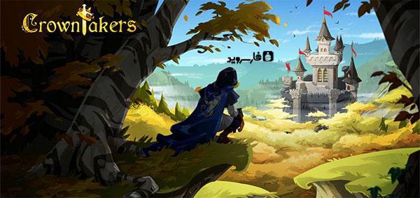 دانلود Crowntakers - بازی استراتژی دزدان پادشاه اندروید + دیتا