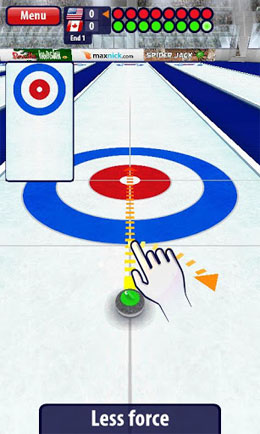 Curling3D Android Game