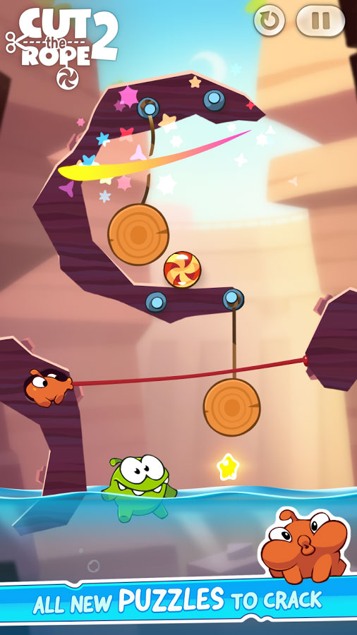 Cut the Rope 2 Android - بازی اندروید