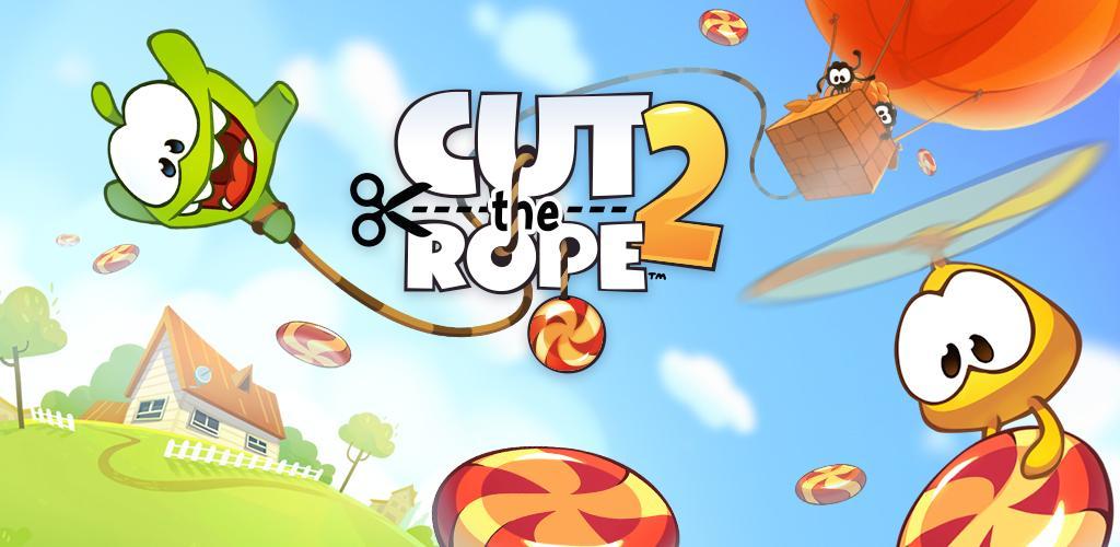 دانلود Cut the Rope 2 - نسخه 2 بازی پرطرفدار طناب را ببر اندروید