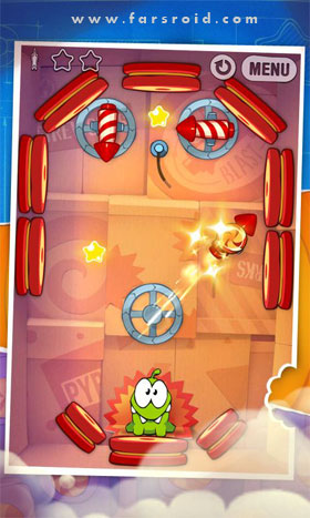 Cut the Rope: Experiments Android بازی اندروید