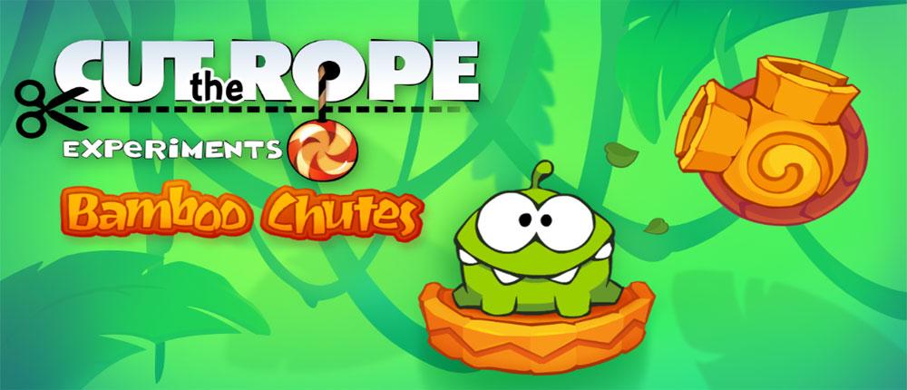 دانلود Cut the Rope: Experiments - بازی برش طناب: آزمایشات اندروید