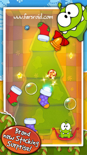 Cut the Rope: Holiday Gift Android بازی اندروید