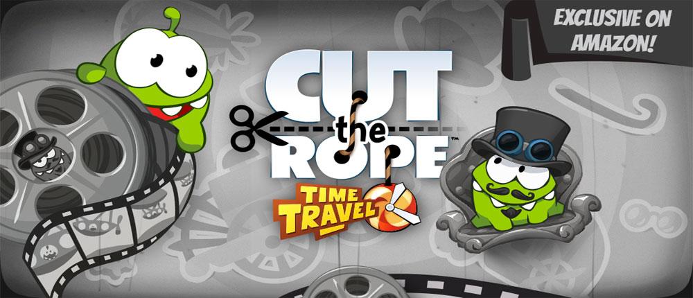 دانلود Cut the Rope: Time Travel 1.0 + HD - نسخه جدید بازی طناب را ببر