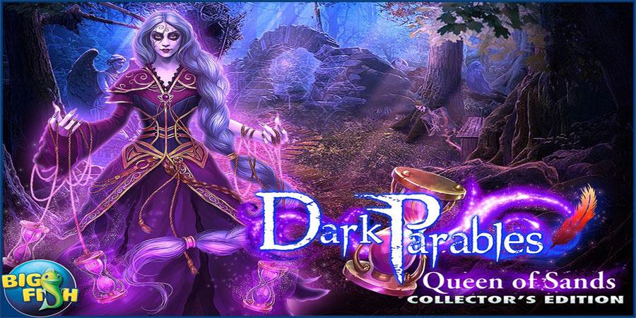 """دانلود Dark Parables: Sands Full - بازی معمایی """"ملکه شهر"""" اندروید + دیتا"""