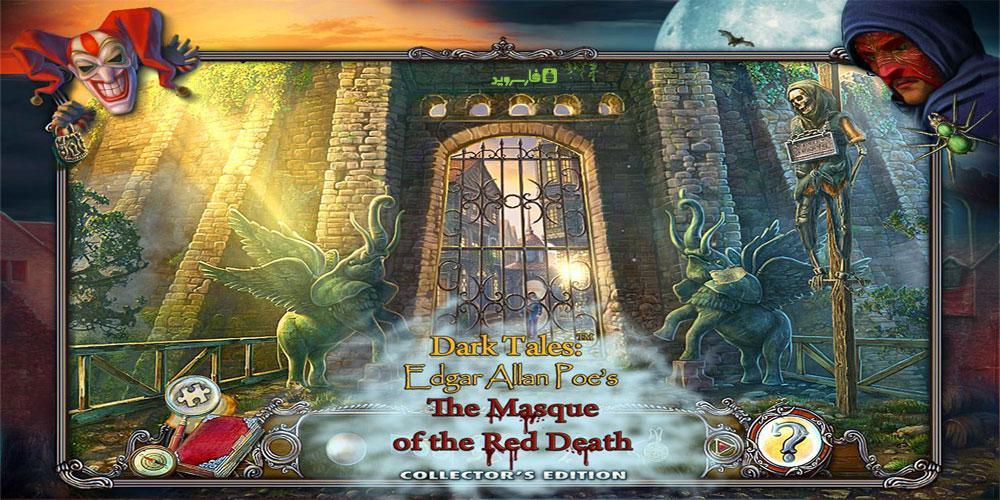 دانلود Dark Tales 5: The Red Mask - بازی پازل و ماجراجویی اندروید + دیتا