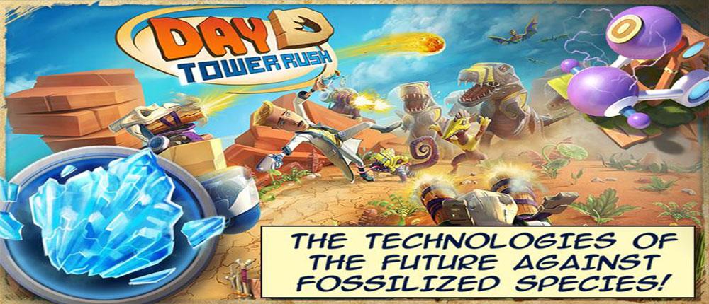 """دانلود Day D: Tower Rush - بازی برج دفاعی """"روز D"""" اندروید + مود"""