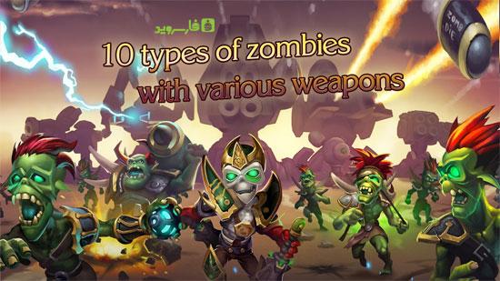 دانلود Dead Lands Reclaim Free 1.11 – بازی برج دفاعی عالی اندروید!