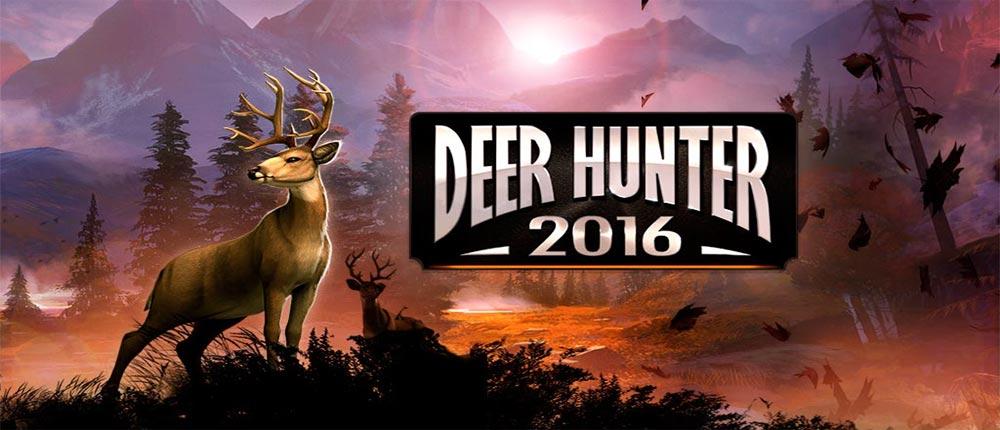 دانلود Deer Hunter 2016 - بازی شکار حیوانات 2016 اندروید + مود