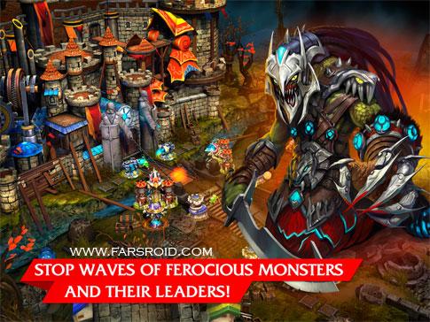 Defenders Android - بازی جدید اندروید