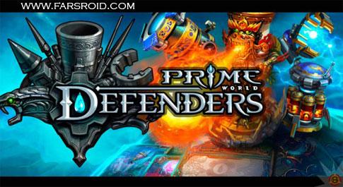 دانلود Defenders - گرافیکی ترین بازی استراتژی اندروید + دیتا + تریلر