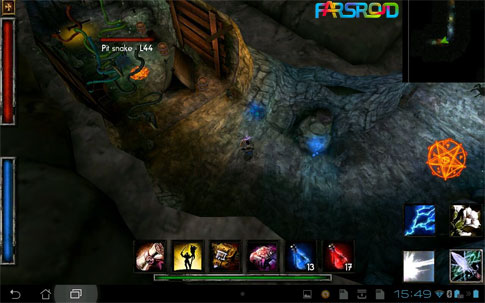 Deprofundis: Requiem Android بازی اندروید