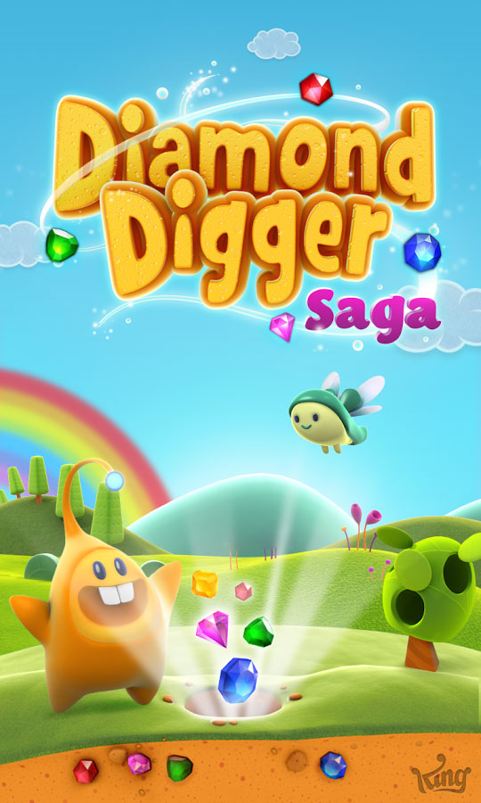 Diamond Digger Saga Android - بازی اندروید