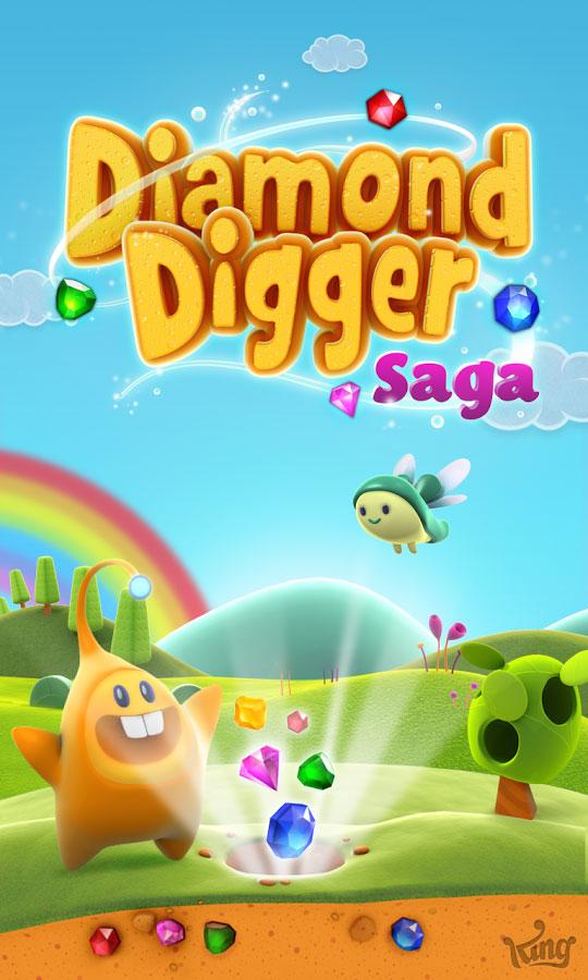 دانلود Diamond Digger Saga 2.104.1 – بازی پازل جوینده الماس اندروید + مود